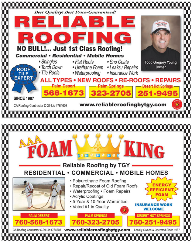 Community Directory Of The Desert Roofers
